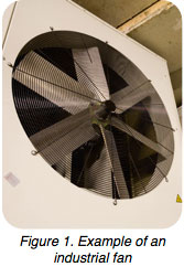 industrial fan vibration