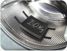 Weight in Washer drum