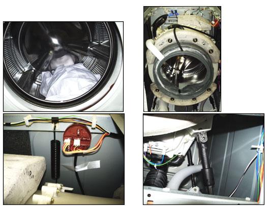 washing machine vibration